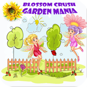 Blossom Crush Garden Mania icon