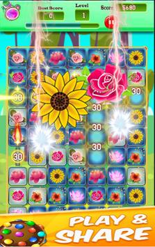 Blossom Crush Garden Mania screenshot 2