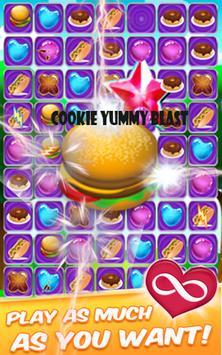 Cookie Blast Yummy Mania apk screenshot