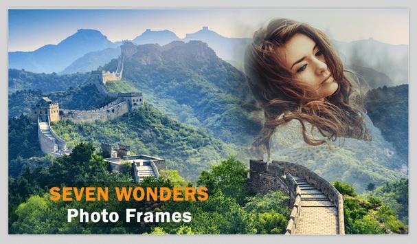 Seven Wonders Photo Frames poster