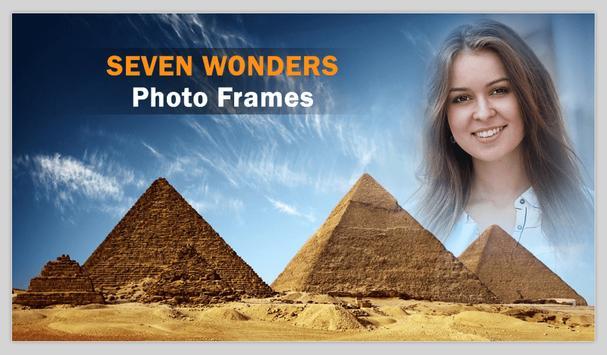 Seven Wonders Photo Frames screenshot 3