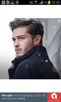 Hairstyles for man 2017 screenshot 1