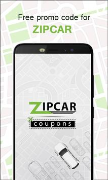 Coupon and Offers for Zipcar - Car Rental poster
