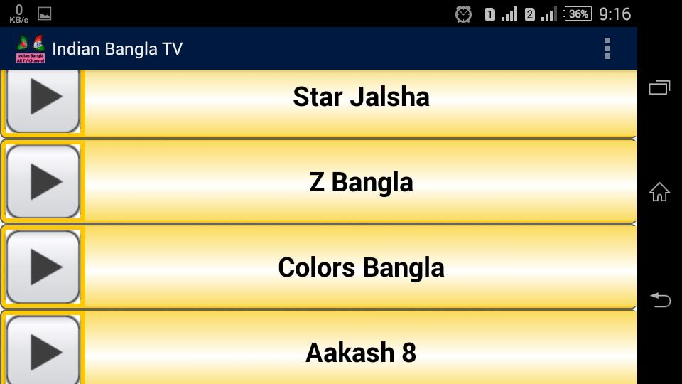 Indian Bangla TV Channel for Android - APK Download