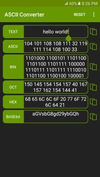 ASCII Converter screenshot 2