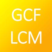 GCF - LCM Calculator icon