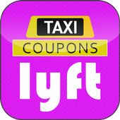 Cab Coupons for Lyft icon