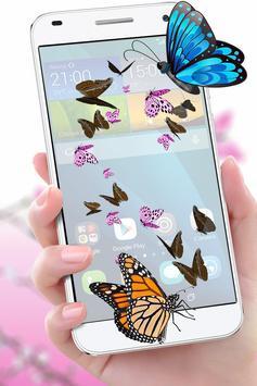 Butterfly in Phone Funny Joke screenshot 2