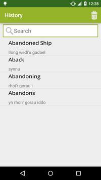 English to Welsh Dictionary screenshot 2