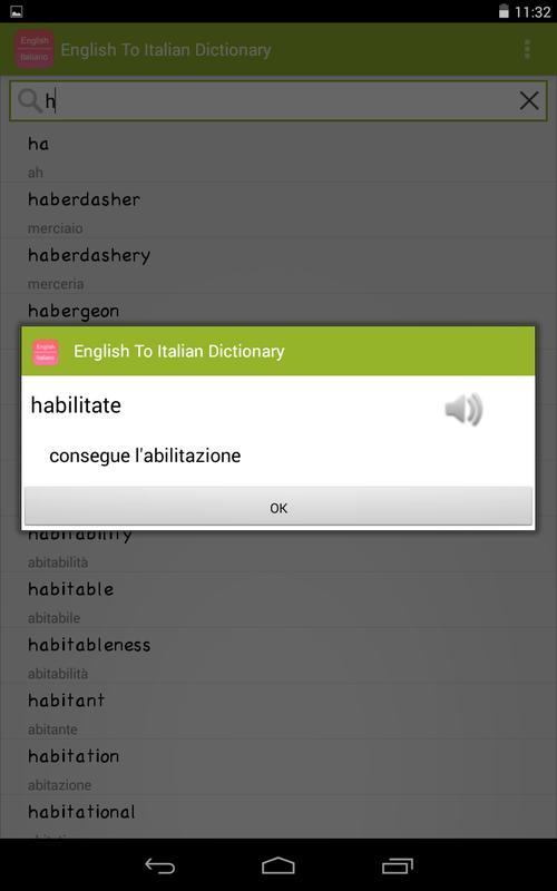 Dizionario inglese italiano, italiano inglese english italian.