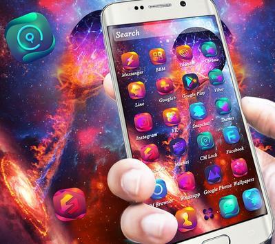Universe Galaxy Fixed Star Theme screenshot 6