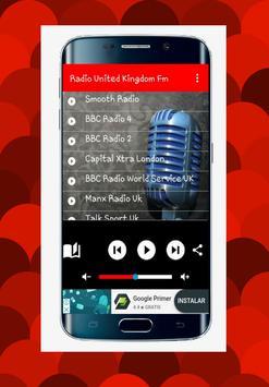 Radio united kingdom Fm - free online poster