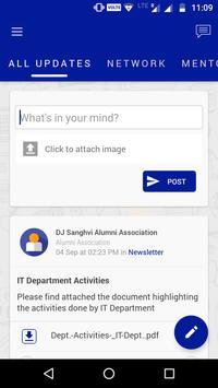 DJSCE Alumni apk screenshot