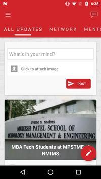 MPSTME Alumni apk screenshot