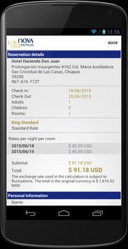 NovaStar Hotels apk screenshot