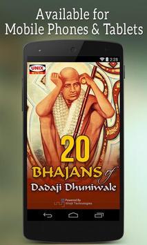 20 Bhajans Of Dadaji Dhuniwale poster