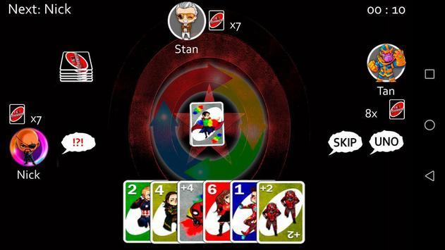 Infinity War of UNO Avengers screenshot 1