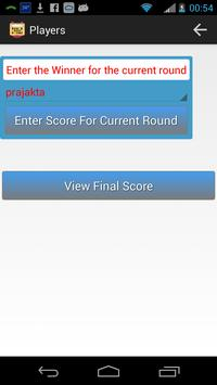 UnoScoreKeeper apk screenshot