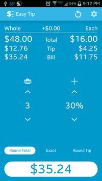 Easy Tip - Tip Calculator apk screenshot