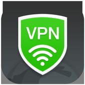 VPN Ilimitada Grátis e Mudar Endereço IP De Pais ícone