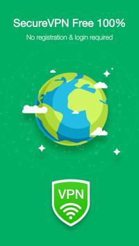VPN Ilimitada Grátis e Mudar Endereço IP De Pais imagem de tela 10