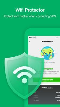 VPN Ilimitada Grátis e Mudar Endereço IP De Pais imagem de tela 8