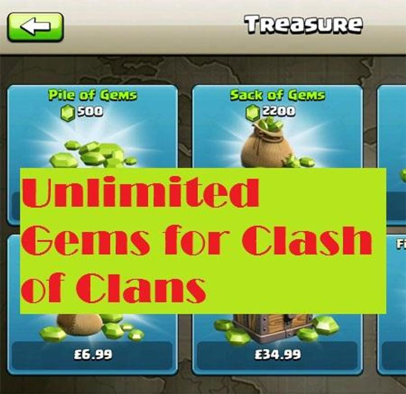 game hack gems clash of clans
