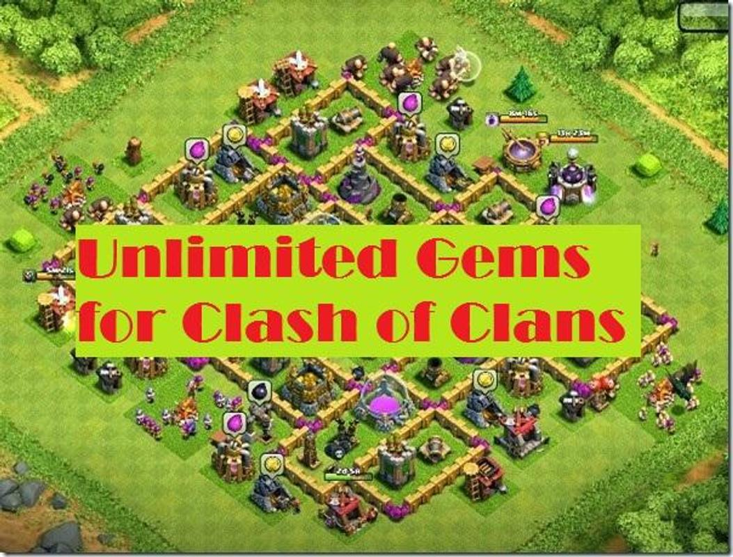 clash of clans unlimited gems apk free download