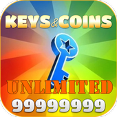 Unlimited Keys and Coins icon