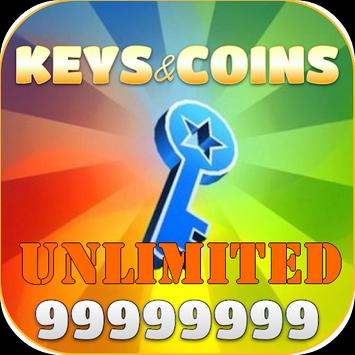 Unlimited Keys and Coins apk screenshot
