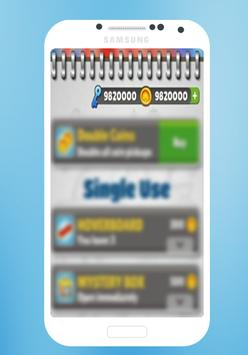 Coins for Subway Surfers Prank screenshot 1