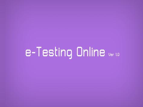 eTestingOnline poster