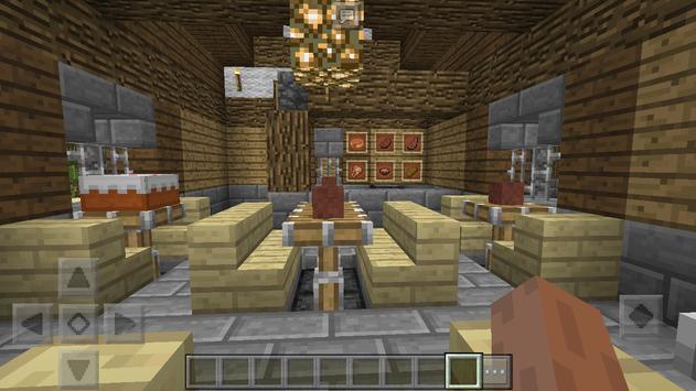 Infected Village MCPE map apk screenshot