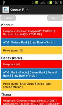 Kannur Bus screenshot 4