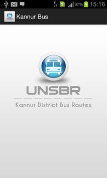 Kannur Bus poster
