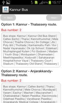 Kannur Bus screenshot 3