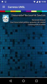 Carreras UNSL poster