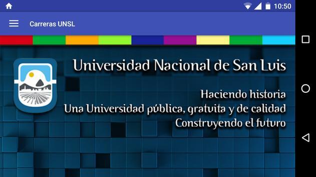 Carreras UNSL apk screenshot