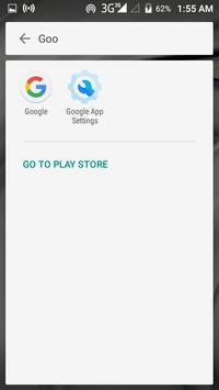 Launcher for Google App Settings: V2 screenshot 1