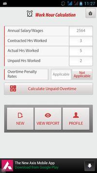Unpaid Overtime screenshot 14