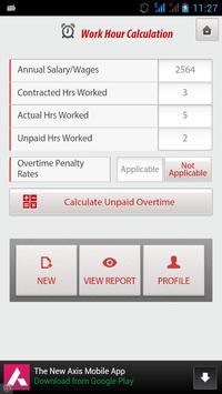 Unpaid Overtime screenshot 2
