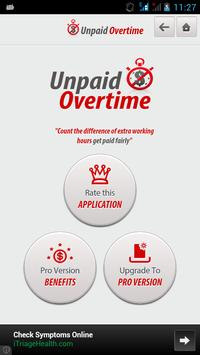Unpaid Overtime screenshot 4