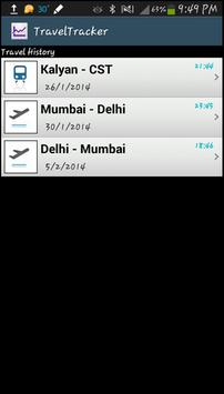 Travel Tracker - Amit Singh apk screenshot