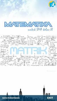 (e-book) matematika matrik poster