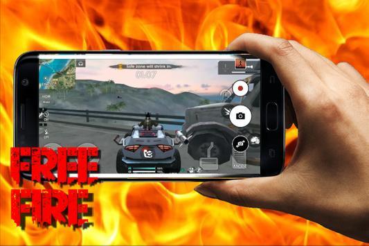 Protips Free Fire - Battleground Wallpaper poster