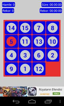 Number Placement poster