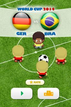 BRAZIL vs GERMANY: 1 x 7 poster