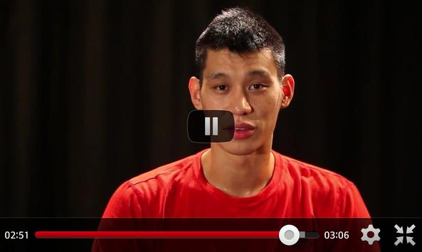 Jeremy Lin Game Log screenshot 1