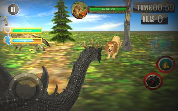 Ultimate Dragon Rampage 2017: Free Dragon Games apk screenshot