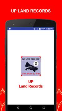 UP LAND RECORDS poster
